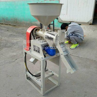 家用杂粮脱皮机 大米成型碾米机 电机带谷子碾米机