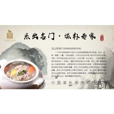 中国滋补羊肉领导品牌 滋补臻品 天山贡羊
