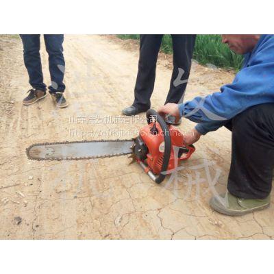 合资挖树机工作24小时 苗圃手持式起树机