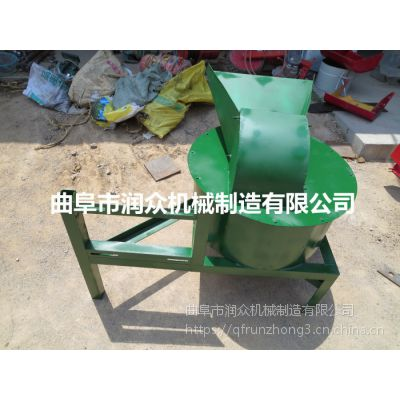 润众饲料打浆机 青饲料加工草浆机 自动进料粉碎打浆机