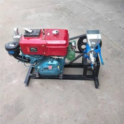 信达专用空心棒膨化机 小型单缸汽油机杂粮膨化机
