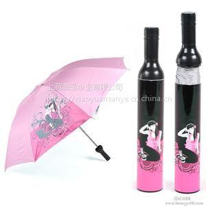 供应创意礼品伞 玫瑰花瓶伞创意广告伞 上海创意广告礼品伞定制工厂
