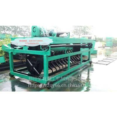 郑州有机肥设备厂家郑州全有重工出售物美价廉的槽式翻堆机设备