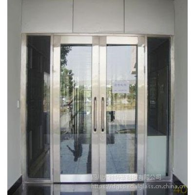 四川成都不锈钢玻璃防火门,颜色可选,耐火极限支持定制