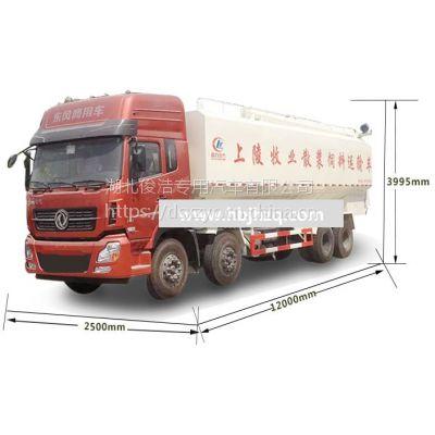 东风145散装饲料运输车上装部分专业评测