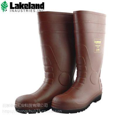 雷克兰防化靴R-2-49 防酸碱防砸男士雨靴 作业保护安全鞋