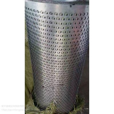 设备防护冲孔板 吉林过滤冲孔网卷 热镀锌穿孔板厂家批发