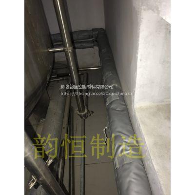 山东韵恒 防水 防火 耐酸碱型重复使用可拆卸蒸汽阀门保温套 防火型保温棉