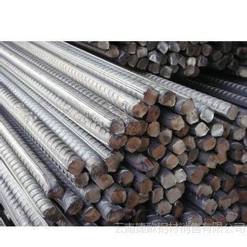 昆明螺纹钢经销商 Φ16 昆钢热轧带肋钢筋价格 HRB400