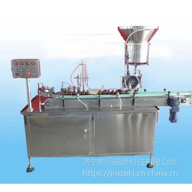 山东新玛 全自动灌装机 全自动4头果酱灌装旋盖机