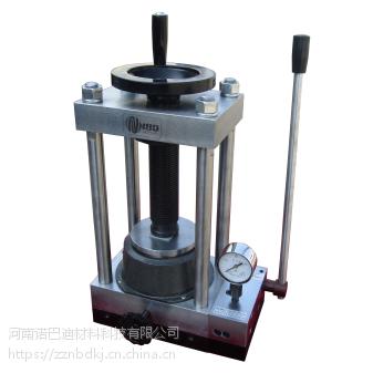 河南诺巴迪厂家直销 手动压片机