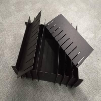 深圳盐田 齿状塑料分隔板 周转箱pp隔板 东莞正美 实心板厂家