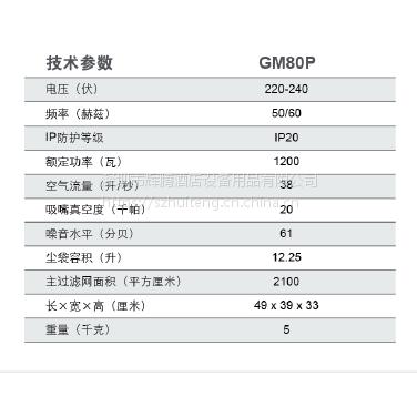 力奇GM80P 无尘室专用吸尘器 净化车间专用吸尘器