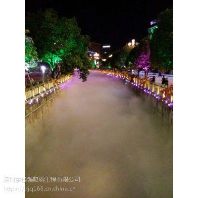 旅游景区人造雾生态景观花园喷雾造景工程