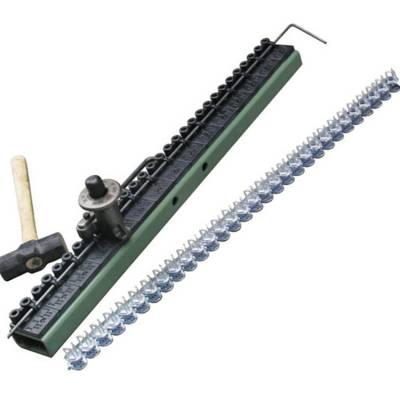 V6 SK锤式钉扣机 带宽1000六针皮带扣 方管锤式打扣机