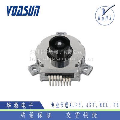 日本ALPS飞梭编码器带开关、SRGPHJ3200安防或摄像机用ALPS编码器