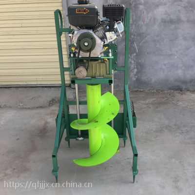 金佳机械 手推式挖坑机 便携式栽树机 框架式打洞机厂家
