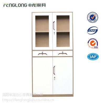薄边钢制办公柜、资料柜、档案柜、铁皮柜、中二斗文件柜