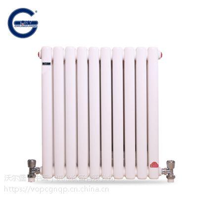 春光钢2柱 暖气片钢制柱式 暖气片家用 钢二柱散热器 量大从优