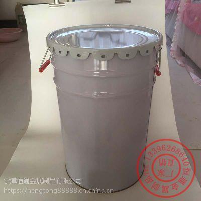 宜城工业品铁桶2L带盖铁桶图片恒通