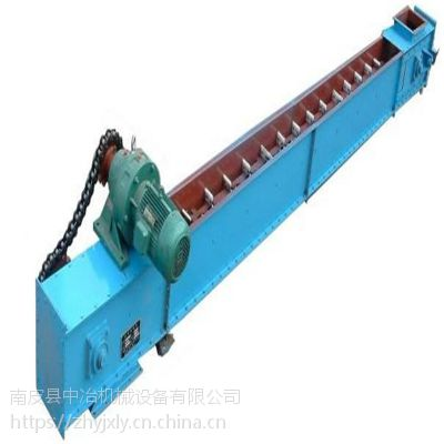 水平刮板输送机 块状物料刮板送输机 埋刮板输送机中冶批发价