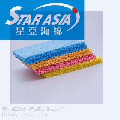 定制卡通小熊形状木浆棉 吸水膨胀木浆棉