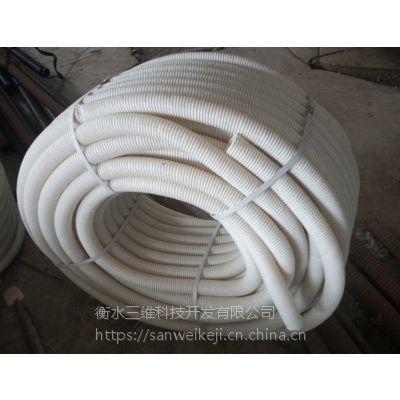 定制批发三维牌国标HDPE双壁50mm打孔塑料波纹管