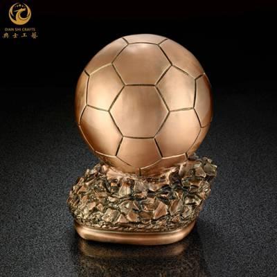 金属金靴奖奖杯|足球金靴奖奖品|足球俱乐部成立纪念品|金属奖杯定制
