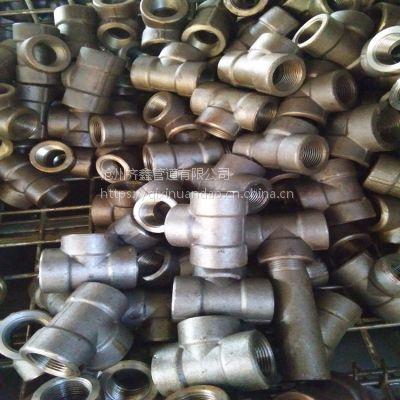 生产碳钢20#承插焊三通 螺纹三通 欢迎来电咨询 沧州齐鑫