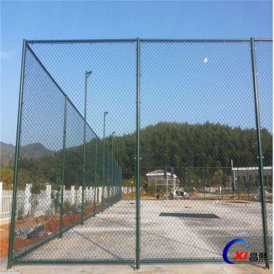 定做 【篮球场围栏】 室内球场勾花网 学校体育场勾花护栏网