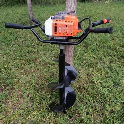厂家直销 绿化造林刨穴机 手提式整地挖坑机 4.3马力打眼钻土机