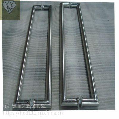 304不锈钢玻璃大门拉手 现代中欧式木门把手推拉大门扶手定制