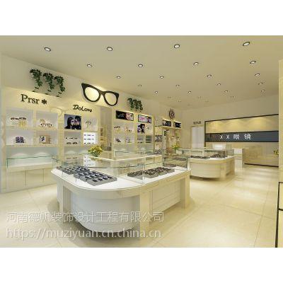 来宾眼镜店装修公司 来宾眼镜店展柜设计制作 来宾眼镜柜台生产厂家