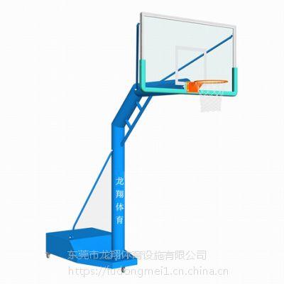 厂家直销 室外 单臂圆管 篮球架系列