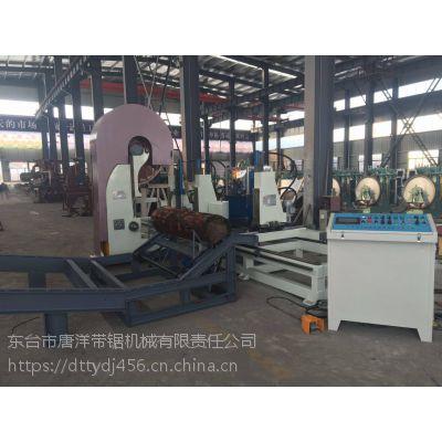 全套设备木工机械精密跑车带锯机操作性能高效稳定 带锯配套修磨设备