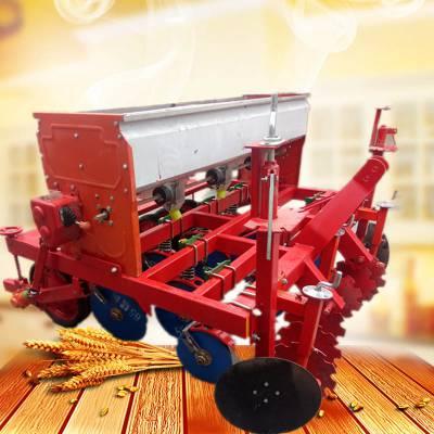 渭南市多功能小麦播种机 启航牌省种子的药材精播机 四行手推香菜播种机生产厂家