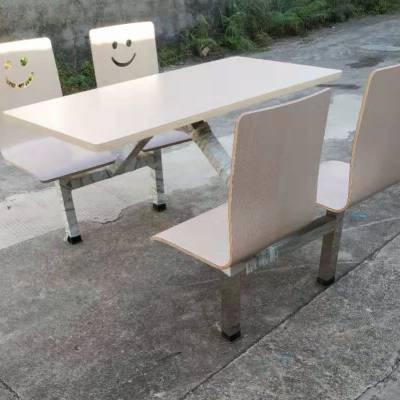 饭堂防火板餐桌 肯德基快餐桌椅 特价曲木餐桌椅厂家直销
