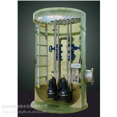 南昌玻璃钢一体化污水提升泵站预制筒体