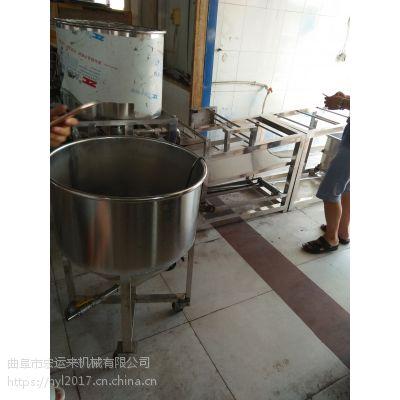 山西仿手工豆腐皮机成套设备 不锈钢材质千张机