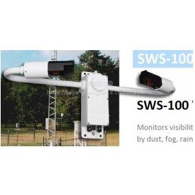Biral能见度传感器SWS-100监测空气中:灰尘、雾、雨、雨、雪、冰雹、能见度等指标