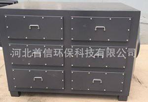 废气吸附装置活性炭吸附箱活性炭过滤箱首信环保
