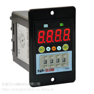CB-2预置拨码4位计数器台湾泛达pan-globe仪器仪表