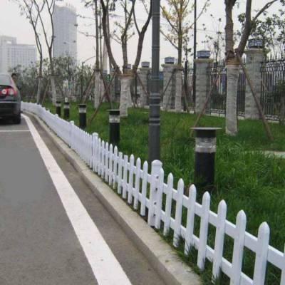 浙江宁波镇海塑钢护栏生产商 庭院护栏哈尔滨pvc 草坪护栏订做