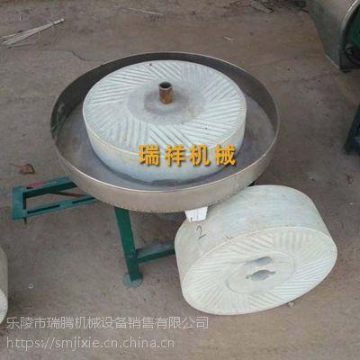 电动石磨香油机 山东瑞祥厂家优质石磨香油机