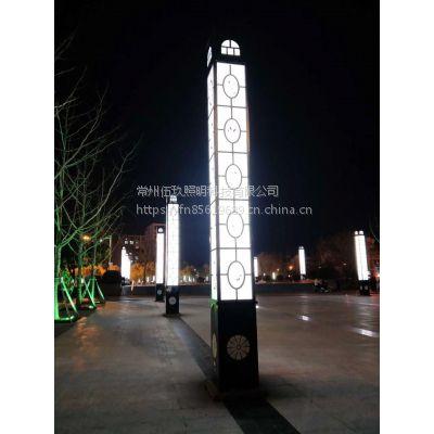 供应FNZH/伍玖照明小区园林绿化户外景区LED景观灯路灯 4米高指导安装