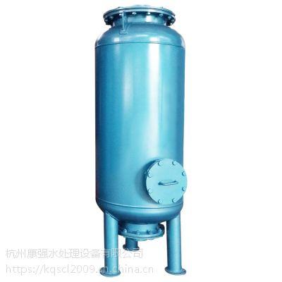 直径600毫米 总高2.3米 碳钢235B内衬胶过滤器罐体