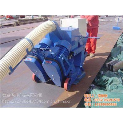 湖南抛丸机|青岛华川(图)|钢板抛丸机