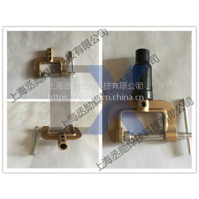 上海-焊机铜地线夹 福尼斯焊机地线夹 旋转全铜地线夹供应