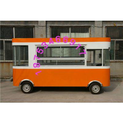 多功能小吃车房车早餐车燃气油炸小吃车果蔬车餐饮车小商品外卖车熟食售卖车