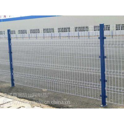 安平双边丝护栏网钢丝铁丝防护网圈地围墙高速公路围栏隔离栅厂家直销
